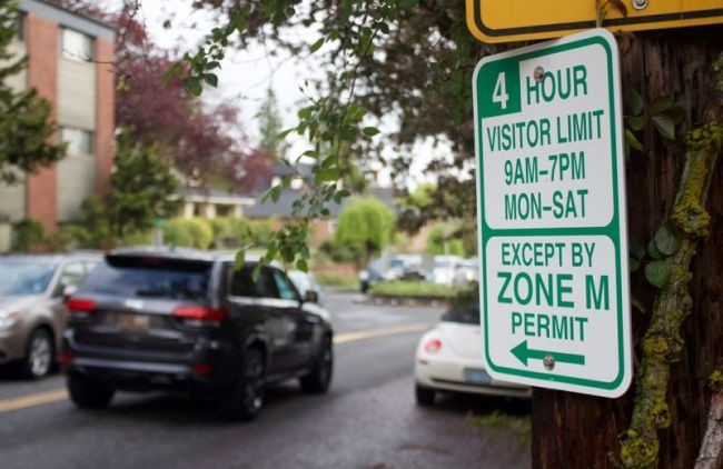 Temporary Zone M Parking Permit Lottery