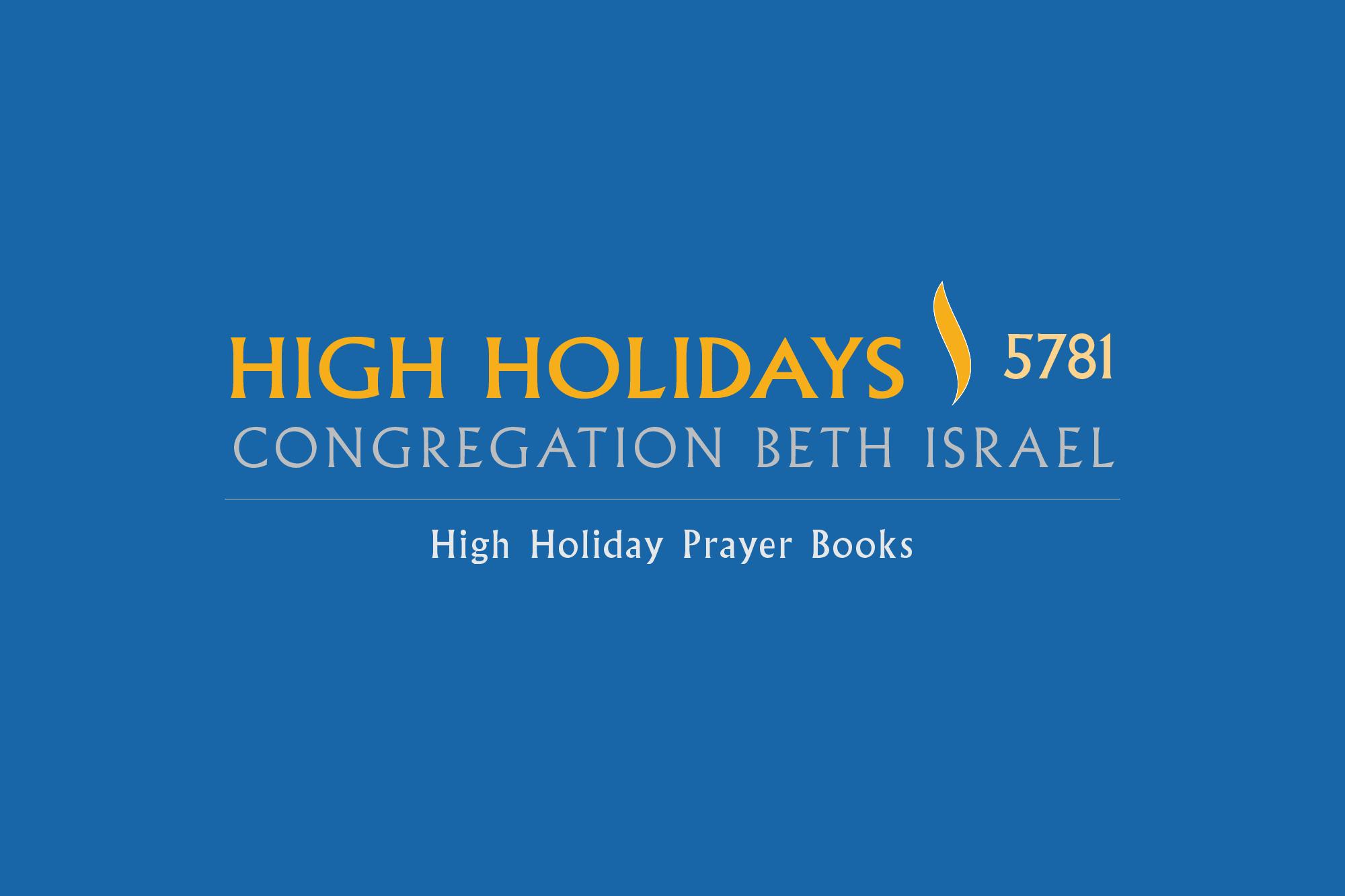High Holidays 5781 | Prayer Books