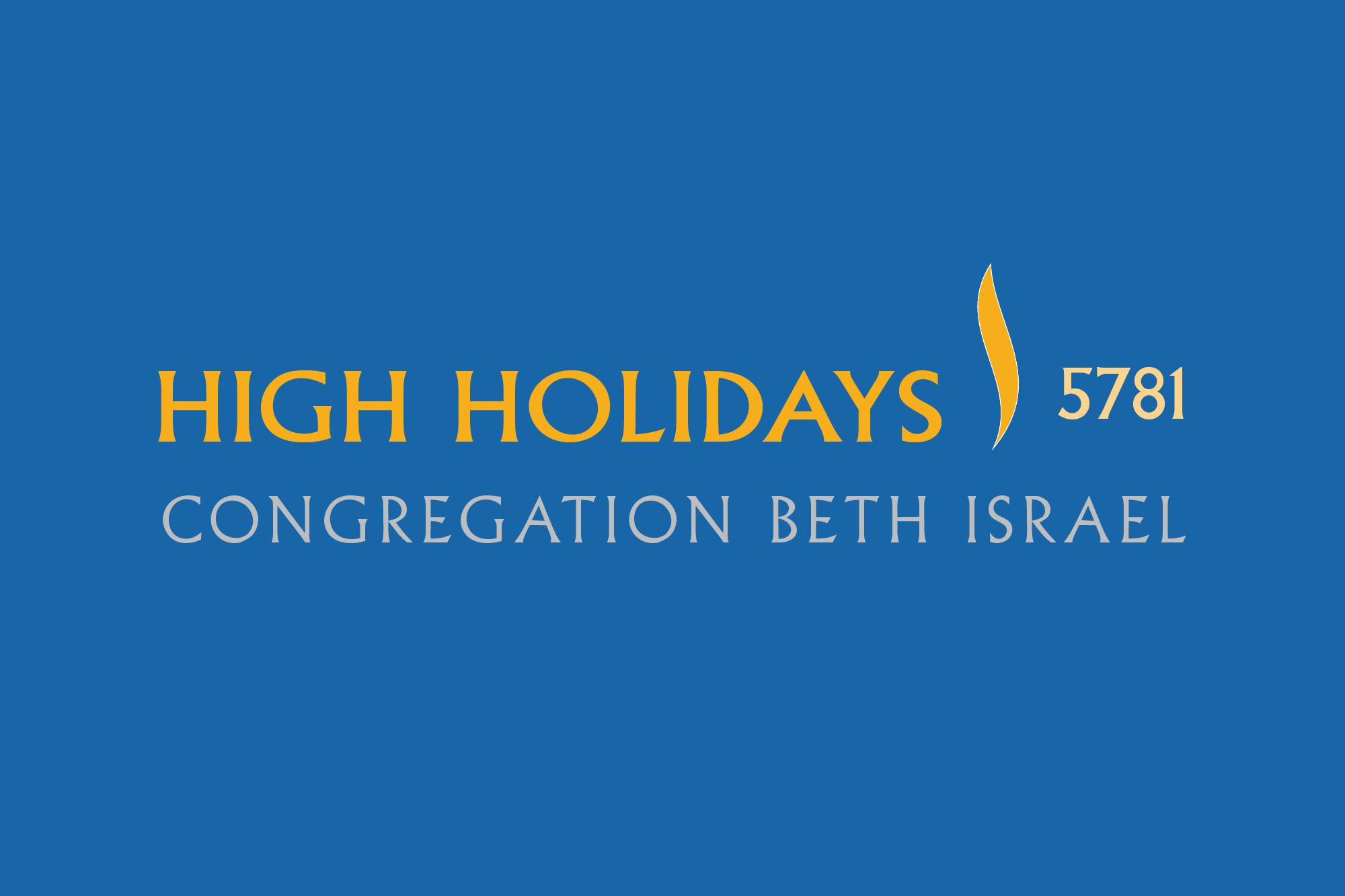 High Holidays 5781